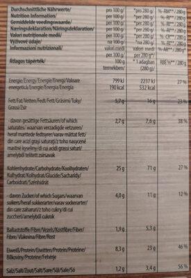 Italissimo Thin & Crispy Caprese - Informations nutritionnelles - de