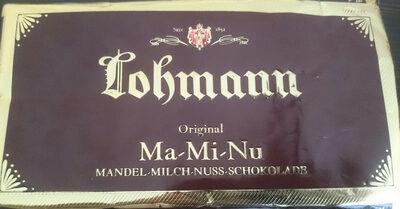 Ma-Mi-Nu Schokolade - Product