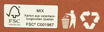 Original Cookie Dough Half-Baked Brownie - Istruzioni per il riciclaggio e/o informazioni sull'imballaggio - de