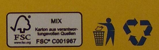 Cookie Dough Lemon Cake - Wiederverwertungsanweisungen und/oder Verpackungsinformationen - de