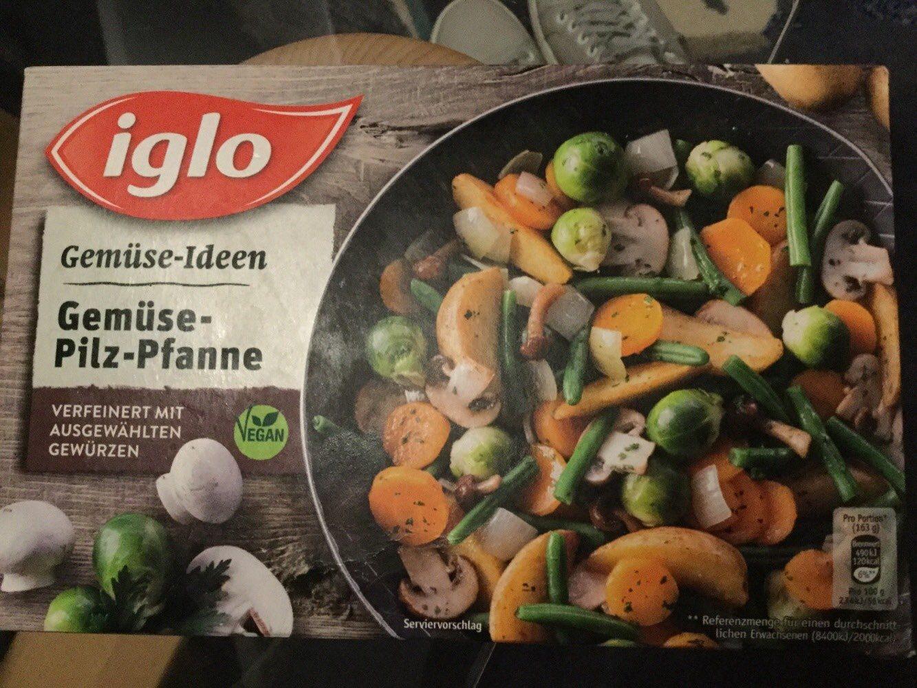 Gemüse-Ideen Gemüse-Pilz Pfanne - Prodotto - de