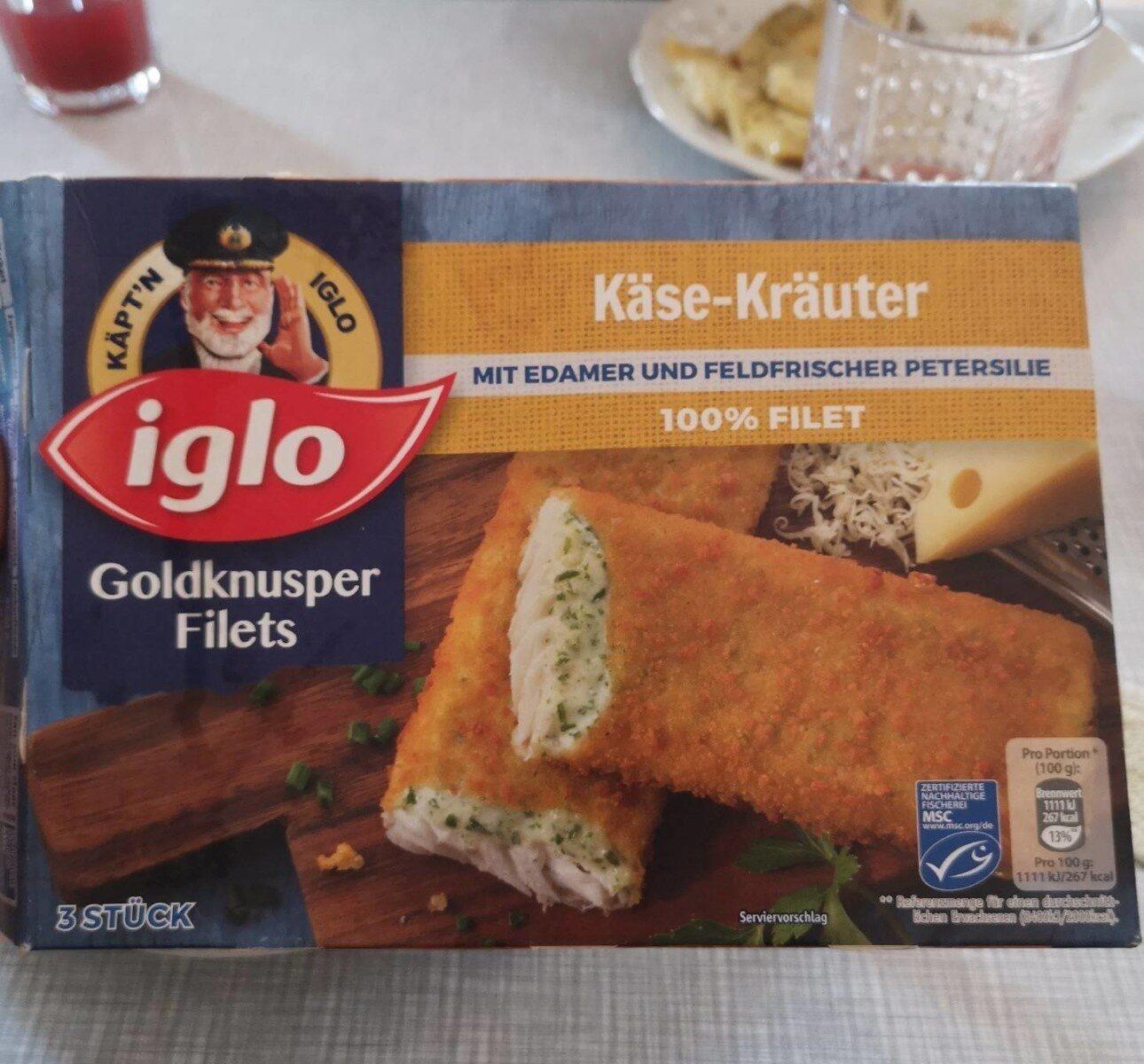 Goldknusper-Filets Käse-Kräuter - Product - de