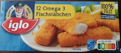 12 Omega 3 Fischstäbchen - Produit - de