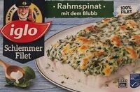 Schlemmer Filet, Rahm Spinat Mit Dem Blubb - Product - fr