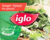 Junger Spinat fein gehackt - Produit