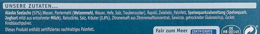Schlemmer-Filet à la Bordelaise Knusprig Kross - Ingredients