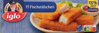 15 Fischstäbchen - Produkt - de