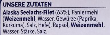15 Fischstäbchen - Ingrediënten - de