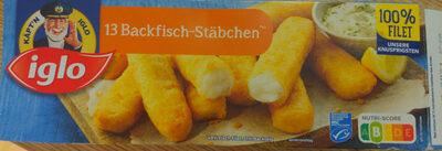 13 Backfisch-Stäbchen - Produit - de