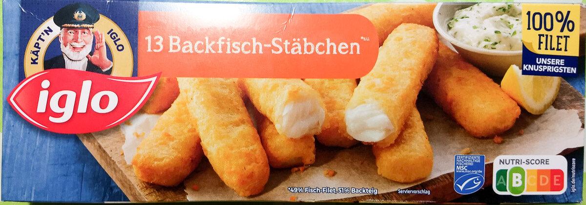 13 Backfisch-Stäbchen - Prodotto - de