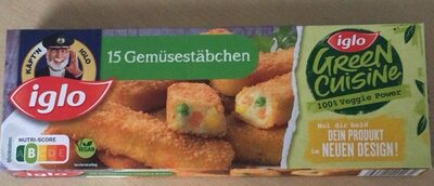 15 Gemüsestäbchen - Product
