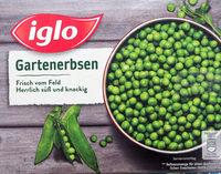 Gartenerbsen - Produit