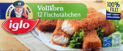 12 Vollkorn Fischstäbchen - Product - de