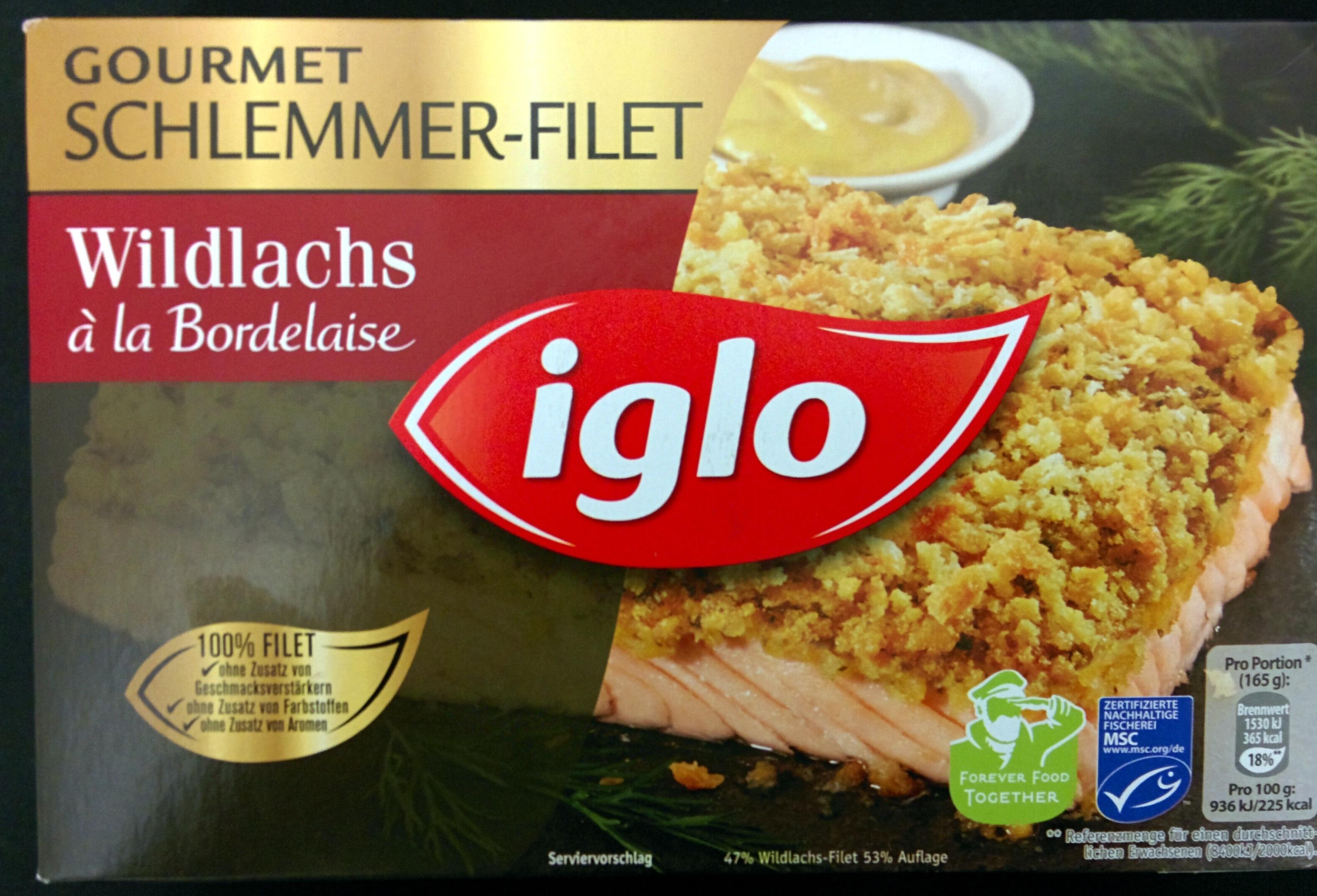 Gourmet Schlemmer-Filet Wildlachs à la Bordelaise - Produit