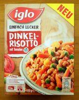 Dinkel-Risotto mit Tomaten - Produit - de