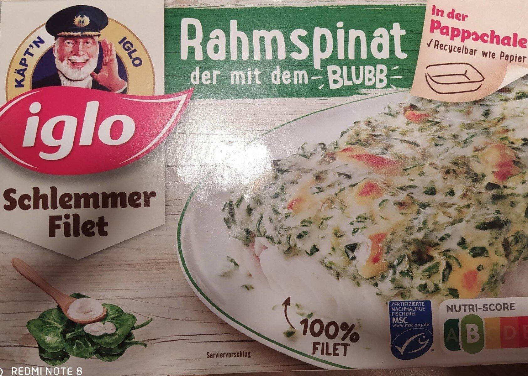 Schlemmer-Filet Rahmspinat - Der mit dem Blubb - Produit - de