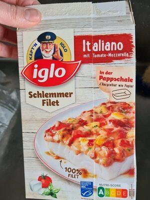 Schlemmer-Filet Italiano mit Tomate-Mozzarella - Produit - de