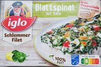 Schlemmer-Filet Blattspinat mit Käse - Produit - de