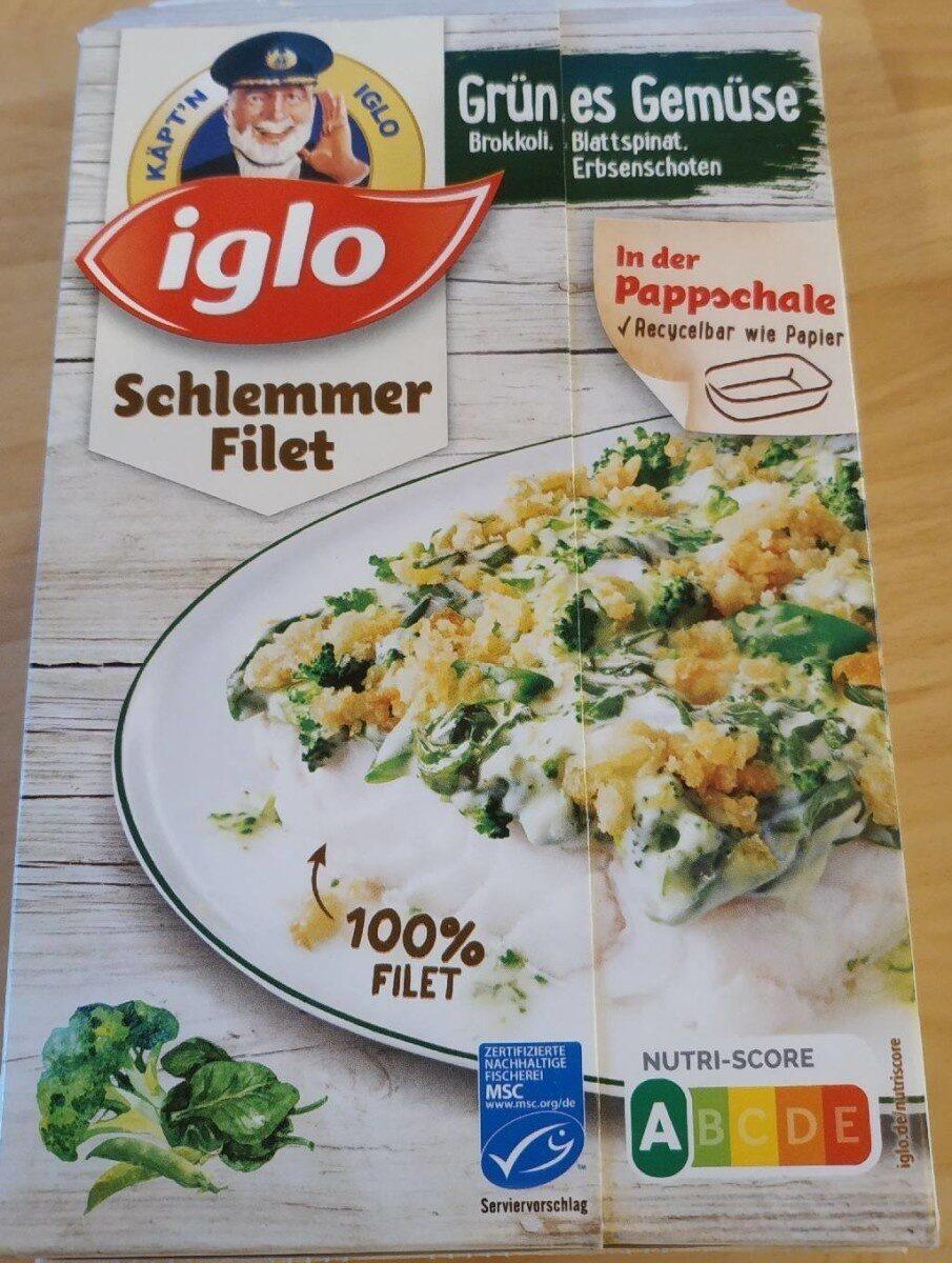 Schlemmer-Filet Grünes Gemüse - Brokkoli, Blattspinat, Erbenschoten - Produit - de