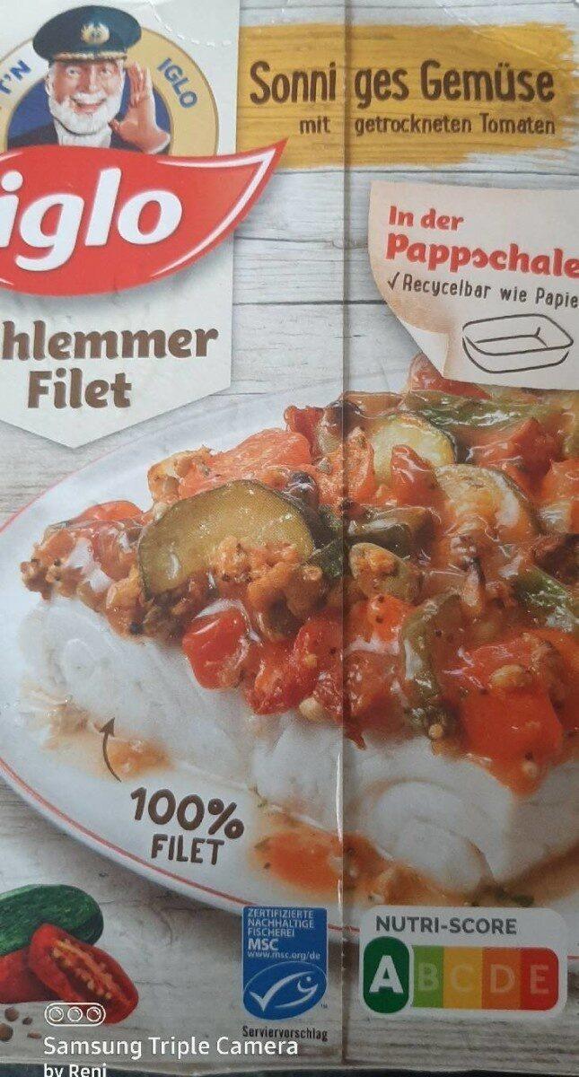 Schlemmer-Filet Sonniges Gemüse mit getrockneten Tomaten - Product - de