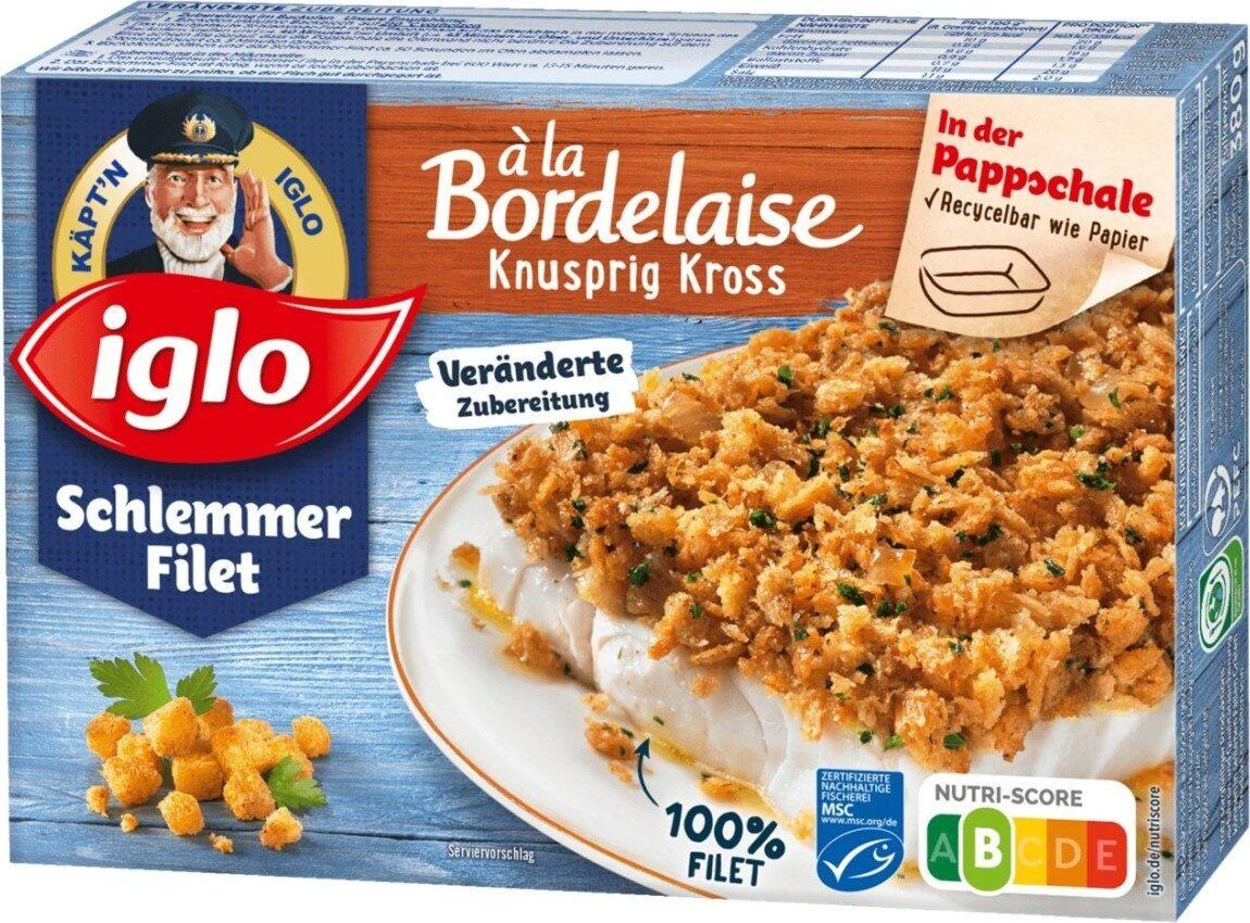 Schlemmerfilet à la Bordelaise Knusprig Kross - Produit - de