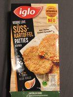 Veggie Love Süsskartoffel Patties - Product - en