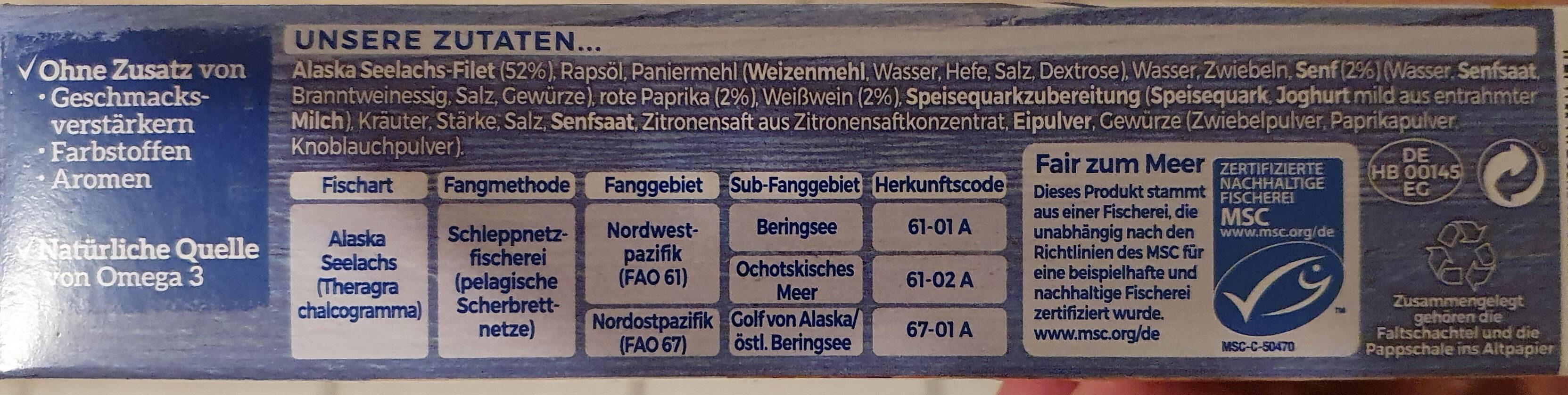 Schlemmer Filet Sylter Art - Zutaten - de