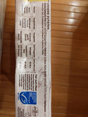 Schlemmer Filet Grüner Spargel - Ingredients - en