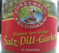 Salz-Dill-Gurken - Produit