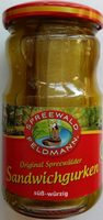 Original Spreewälder Sandwichgurken - Produit - de