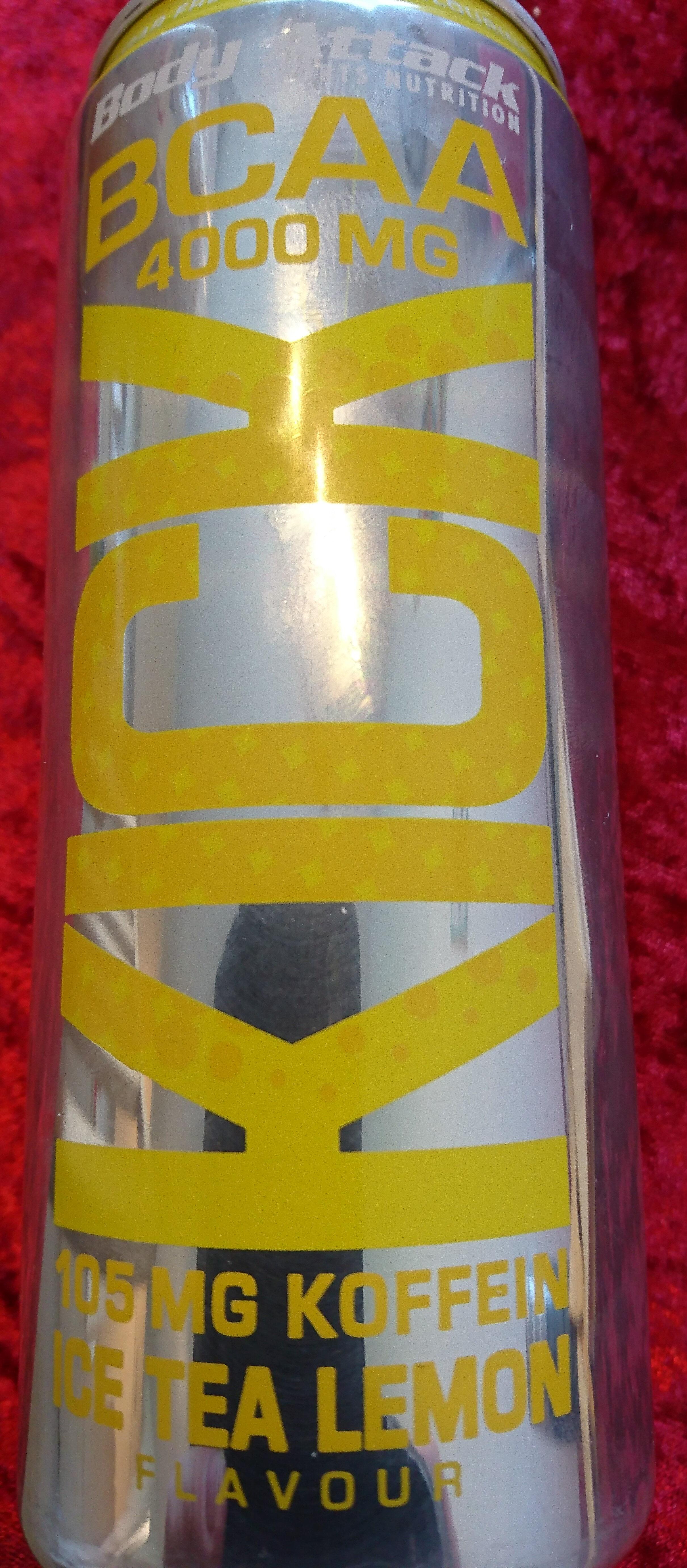 Bcaa Kick Body Attack bcaa kick ice tea lemon - body attack - 330 ml