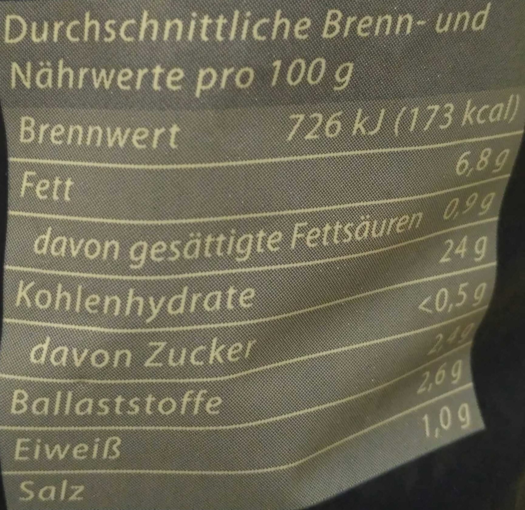 Kartoffel Kcal kartoffel locken küsten gold 450 g