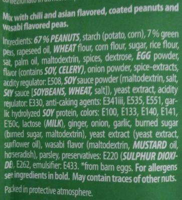 Erdnuss-Mix, Asia Style - Zutaten - de