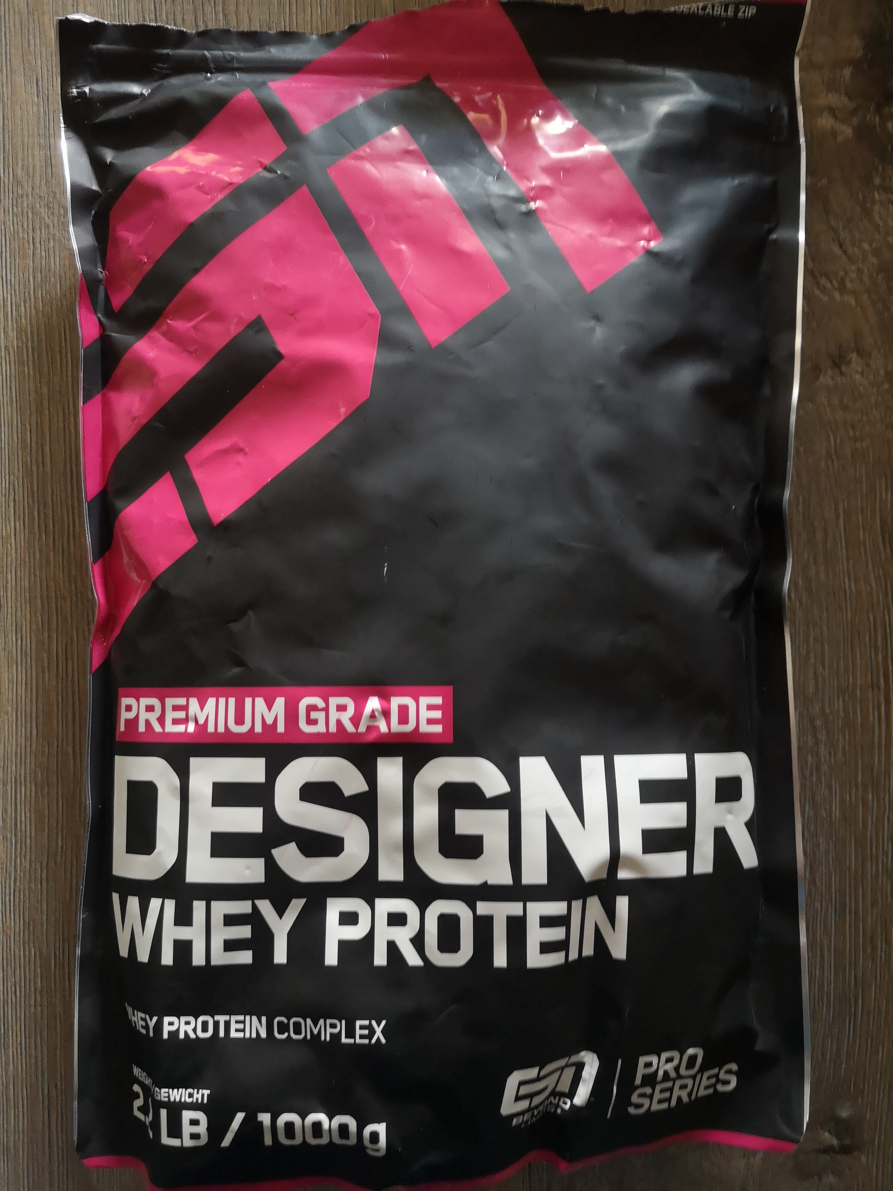 Designer Whey Protein - Product