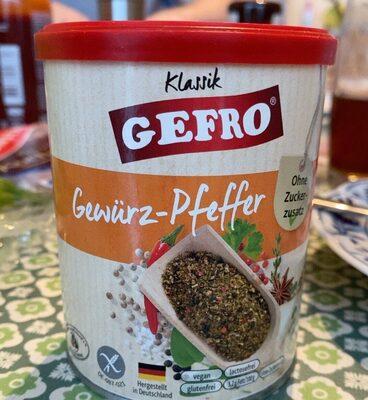 Gewürz-Pfeffer - Produkt - de