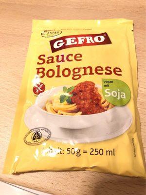 Sauce bolognaise - Produkt