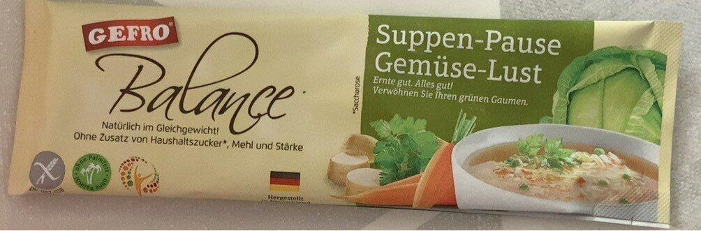 Suppen-Pause Gemüse-Lust - Producto - de