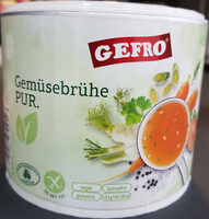 Gemüsebrühe Pur - Produkt - de
