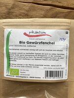 Bio Gewürzfenchel - Produkt - de