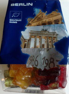 Berlin Bio-fruit gums - Produkt
