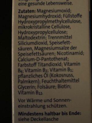 Magnesium 500 - Zutaten