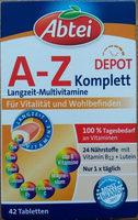 A-Z komplett - Produit - de