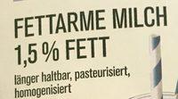 Fettarme Milch - Ingrédients