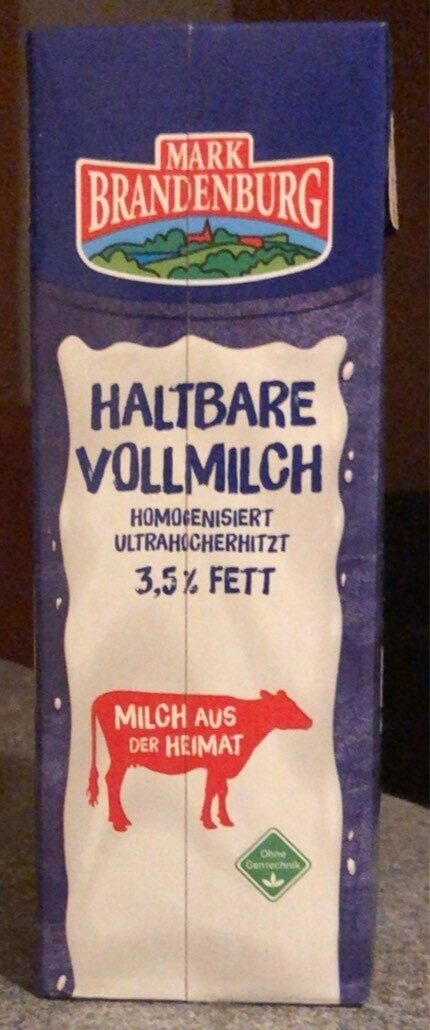 Haltbare Vollmilch 3,5% Fett - Produkt - de