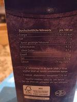 Haltbare Vollmilch 3,5% Fett - Zutaten - de