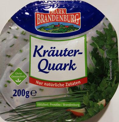 Kräuter - Quark - Produkt