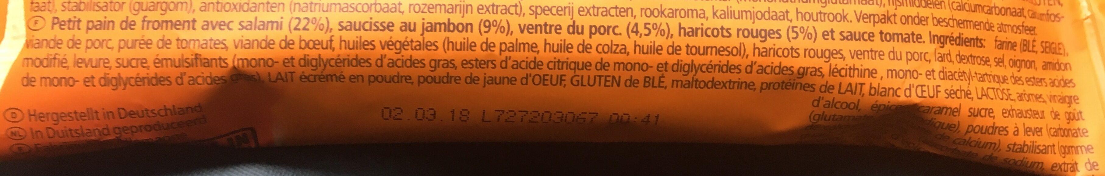 Bifi Ranger - Ingrediënten - fr