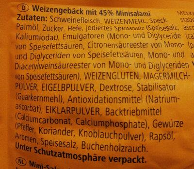 BiFi Roll XXL - Ingredients - de