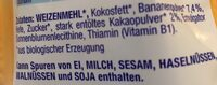 Alete Baby Zwieback Kakao-banane - Ingredients