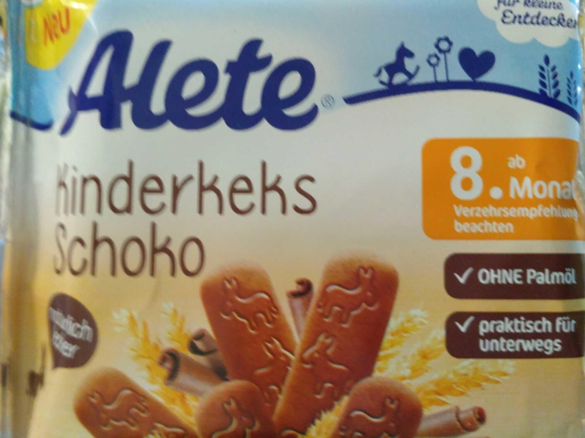 Alete Kinderkeks Schoko - Produkt - de